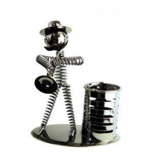 Lapicero de metal clarinete grande